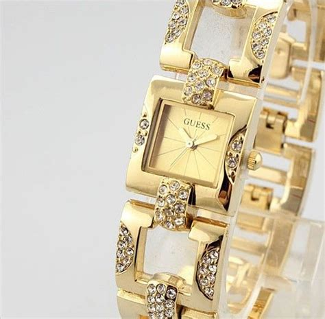 Guess Ceramica Bulat Gold Berkualitas pin by jess q on bracelets and watches clock