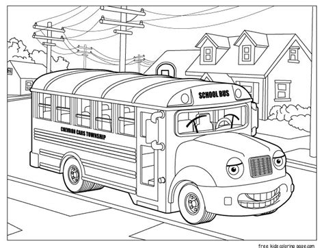 free printable coloring pages school bus school bus coloring free printable coloring pages for