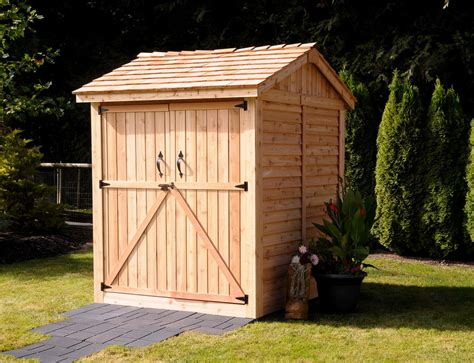 6x6 Wood Shed Hewetson Storage Sheds Lifestyle Series 6 X 6 Apex