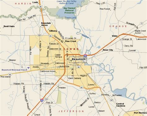 map of beaumont texas beaumont tx pictures posters news and on your pursuit hobbies interests and worries