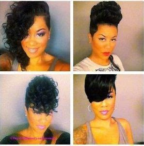 glue in tracks hairstyles absolutely crushing over this short natural look glue