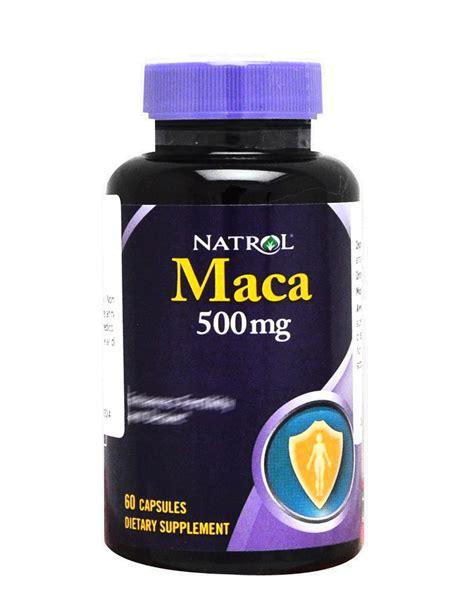 Natrol Maca 60 maca di natrol 60 compresse 8 10
