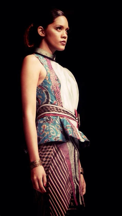 Kain Tenun Ikat Troso Endek Bali Blouse Dress Blazer Kemeja Ethnic 683 best images about kebaya on