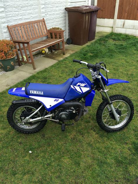 beginner motocross bike yamaha pw80 childs semi automatic motocross bike perfect