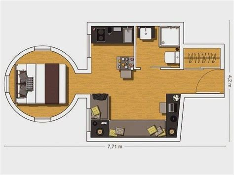 20 square metres 20 square meters floor plans 20 sqm design pinterest