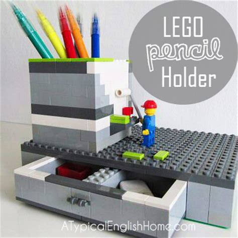 Lego Desk Organizer A Typical Home Diy Lego Pen Holder