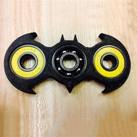 Fidget Spinner Batmanhand Spinnerfidgeting Toys black batman style figit bat fidget spinner edc stuffer ebay