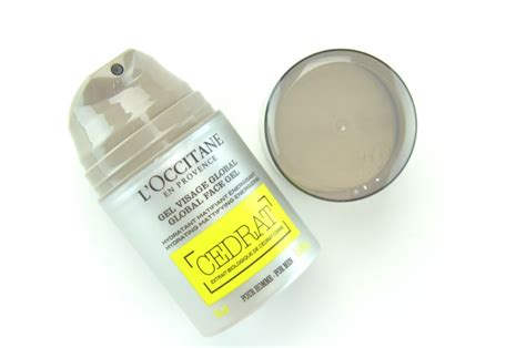 Loccitane Cedrat Gel 50ml l occitane cedrat collection review