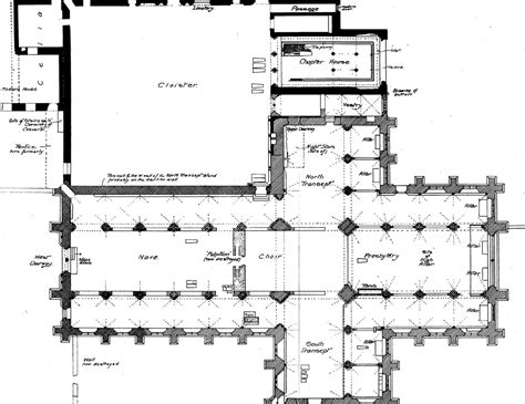 Old Victorian House Floor Plans Medieval Tintern Abbey