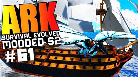 ark boat mod ark survival evolved silver mother of raptors boss