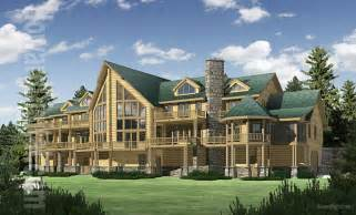 Big Home Plans by Big Sky Log Home Plan Floor Plans 171 Gallery Of Homes