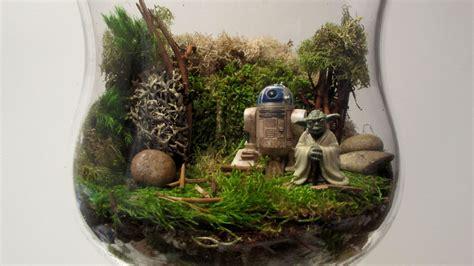Desk Planter by Diy Star Wars Terrarium Thanksgiving Centerpiece