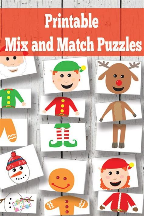 printable matching puzzle games pinterest the world s catalog of ideas