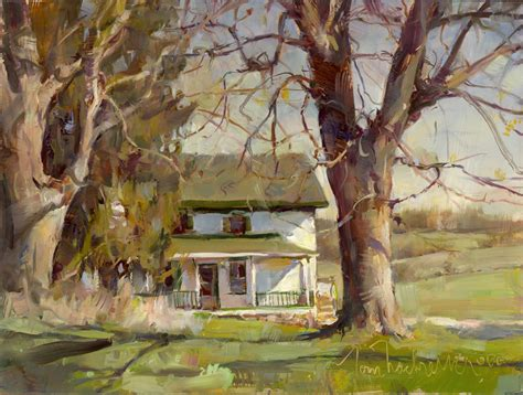 spring house farm spring farm house tom nachreiner american impressionist