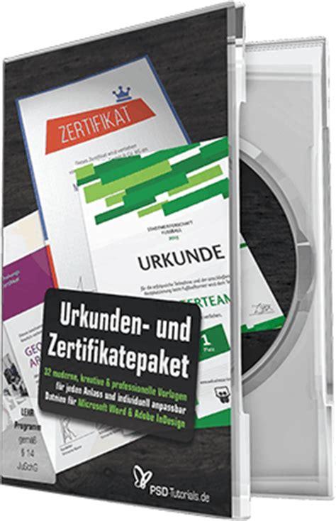 Moderne Urkundenvorlage Gro 223 Es Urkunden Und Zertifikatepaket Psd Tutorials De Shop