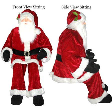 4 foot santas top 28 4 ft santa claus mint airblown 4 ft santa claus by santa claus