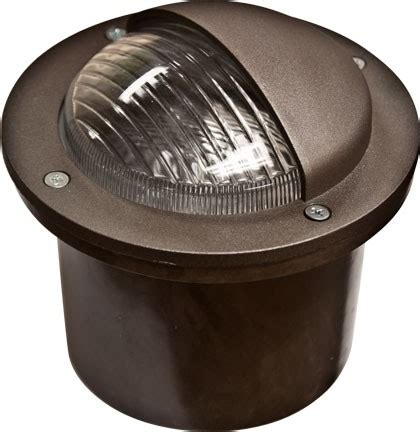 In Ground Lighting Fixtures Adjustable In Ground Fiberglass Well Light W Eyebrow Cover Fg326 By Dabmar
