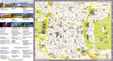 printable walking directions madrid city map tourist gallery