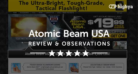 atomic beam vs tac light atomic beam usa tactical flashlight reviews is it a scam