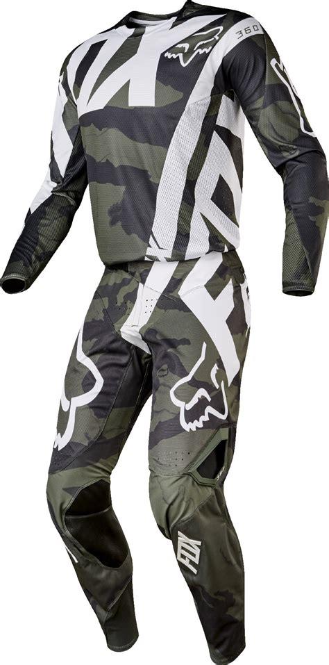 Joefox 1312 Black List White fox racing mens camo green white black 360 creo dirt bike jersey kit combo ebay