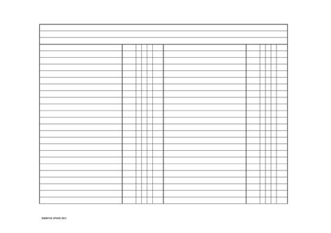 blank balance sheets for accounting best photos of blank