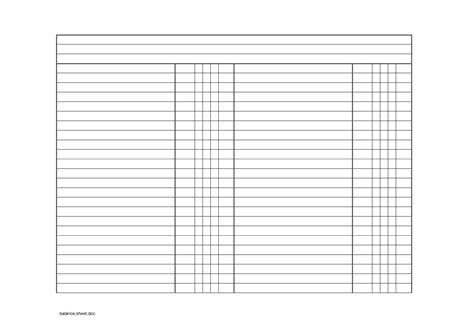 best photos of blank balance sheet template blank