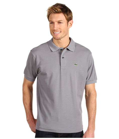 T Shirt Lacoste White 0 1 Buy Side lacoste l1212 classic pique polo shirt in metallic for