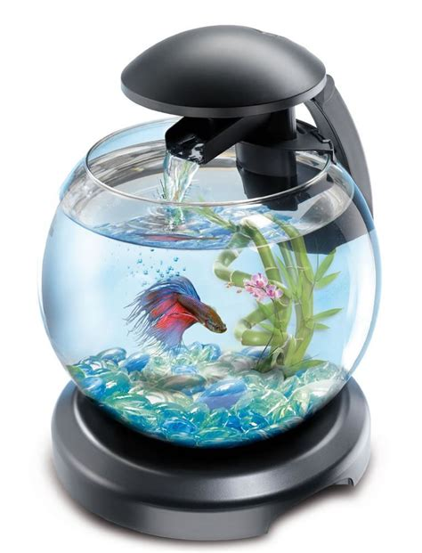 fish tank with filter and light tetra cascade globe glass fish tank with led light filter