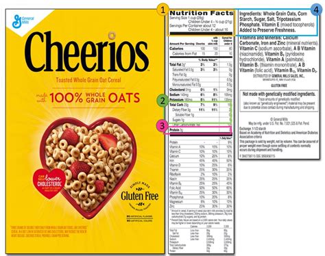 cheerios 4 whole grains nutrition facts multigrain cheerios mloovi