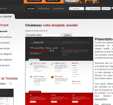 template joomla gratuit francais joomla 75 templates gratuits ludiblog