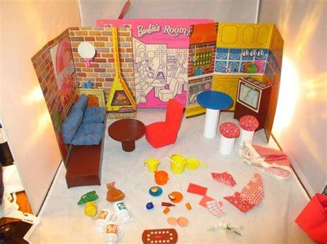 Vintage Livingroom Vintage Barbie 1974 Room Fulls 7406 Firelight Living