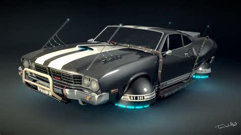 Blender Future hover car model blender 3d by tomwalks on deviantart