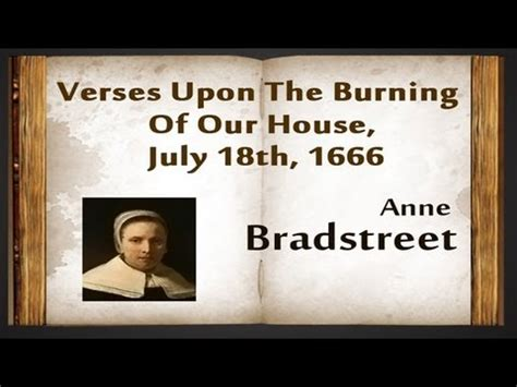 upon the burning of our house anne bradstreet