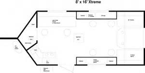 Fish House Floor Plans by 2015 Yetti Xtreme 8 X16 Fish House Stock Number 1403