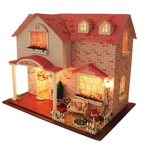 Handcraft House - diy handcraft miniature project kit my pink sweetheart