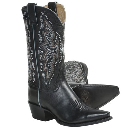 cowboy boots womans sonora leather cowboy boots 11 snip toe for in