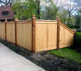 wood fence design creative fences