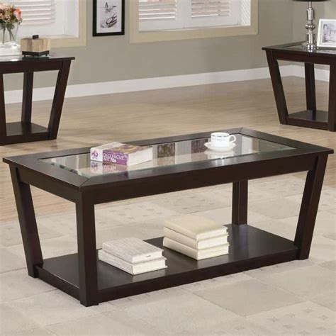 living room contemporary glass coffee table furniture