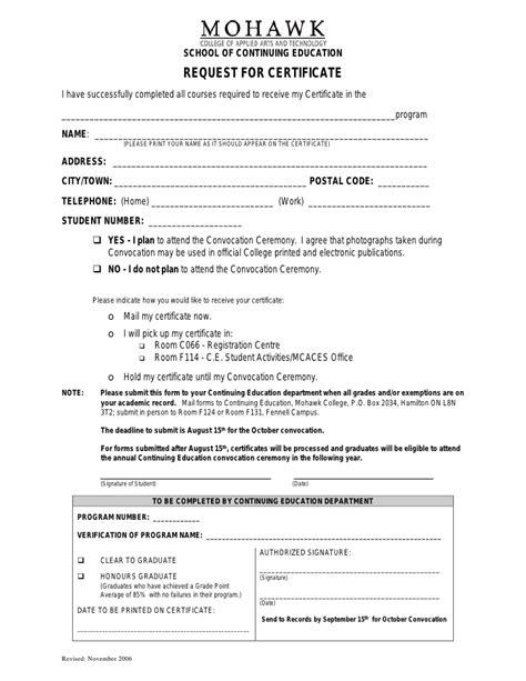 award application letter mohawk college award application letter mohawk college 28 images