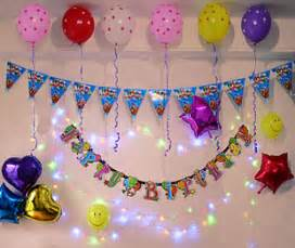 birthday party decoration arrangement supplies banners