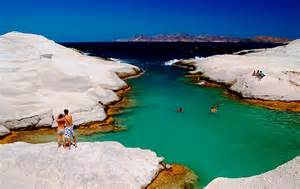 Beaches In Dreamy Beaches Papafrags Milos Island