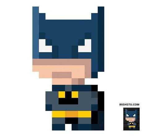 minecraft pixel templates batman pixel batman i can t resist a masked avenger