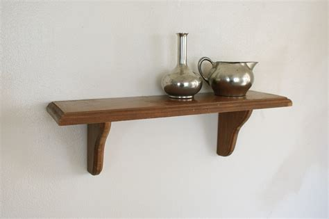 Wooden Wall Shelves | wood wall shelf small display shelving wooden wall hanging