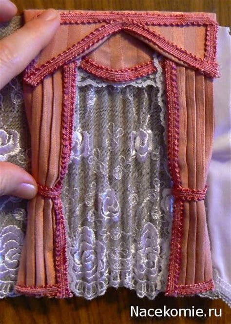 how to make dollhouse curtains 124 best mini curtains windows images on pinterest