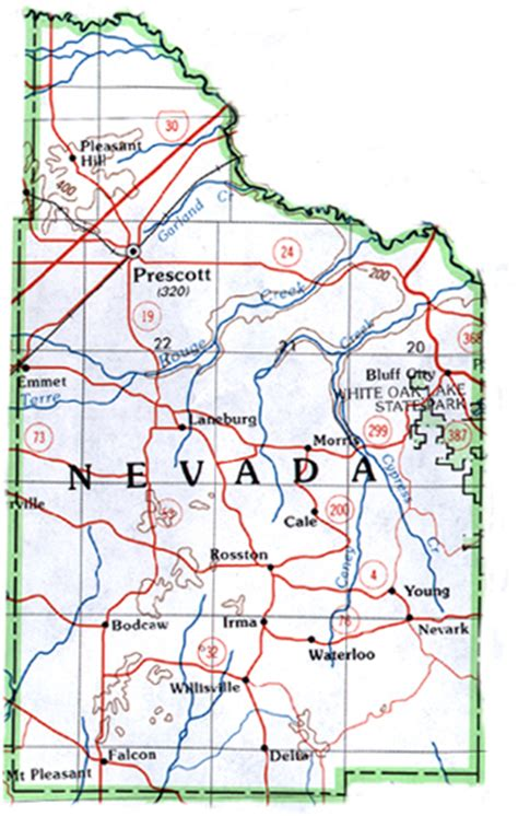 map of nevada county ca nevada county map