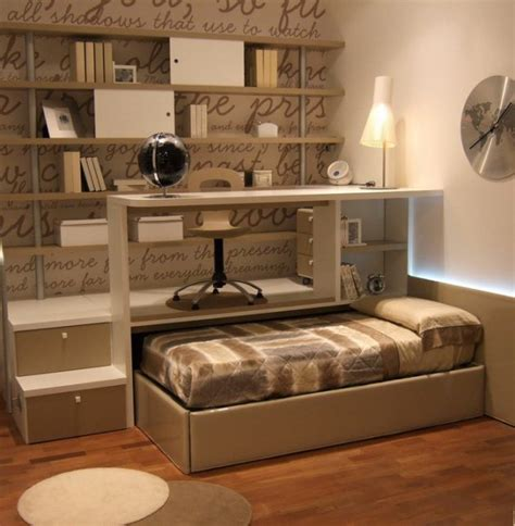amazing pull  bed designs  small spaces