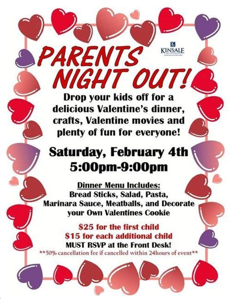 parent flyer templates parents out sle flier serving