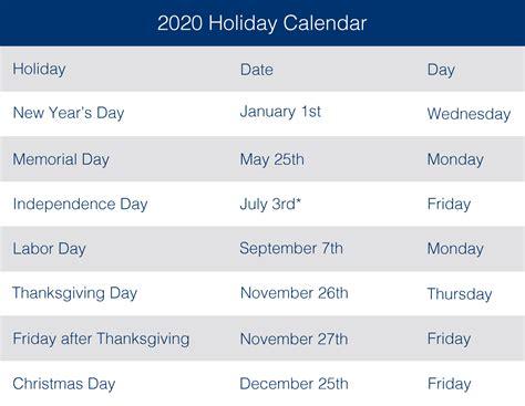 business holidays   usa  business holidays