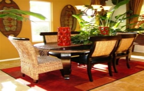 tropical dining room sets dining room categories dining room window treatment