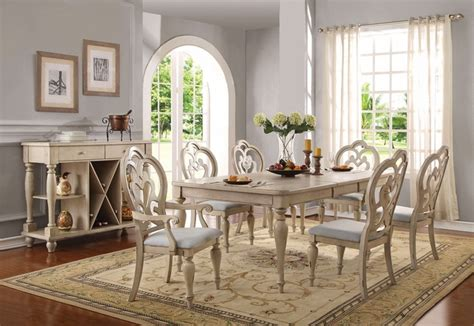 absolon french country   dining table  antique